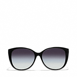 COACH L926 Faye Cat Eye Sunglasses BLACK