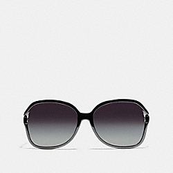 COACH L927 Selma Sunglasses BLACK