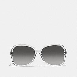 COACH L927 Selma Sunglasses CRYSTAL/BLACK