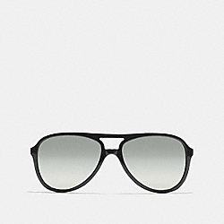 COACH L933 Irma Sunglasses BLACK/SILVER