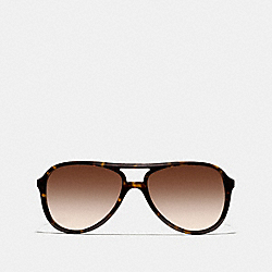 COACH L933 Irma Sunglasses DARK TORTOISE/GOLD