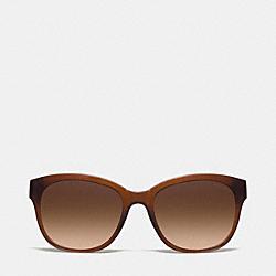 COACH L937 Cailin Sunglasses MILKY SAD/DK TORTOISE