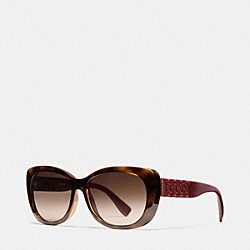 COACH L950 Curbchain Cat Eye Sunglasses EDI
