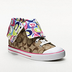 COACH Q1456 Bonney Sneaker MULTICOLOR