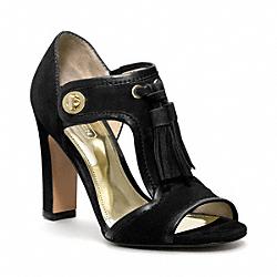 COACH Q1578 Tristen Heel BLACK/BLACK