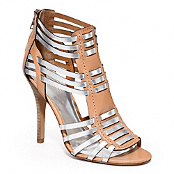 LUCY - q1860 - LIGHT TAN/SILVER