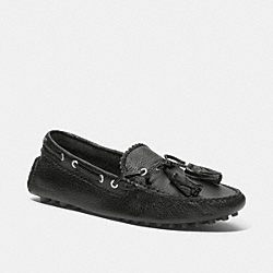 COACH Q1872 Nadia Moccasin BLACK