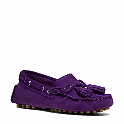 COACH Q1872 Nadia Moccasin ROYAL PURPLE