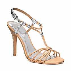 LANA - q1880 - LIGHT TAN/SILVER