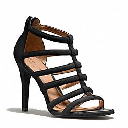 COACH Q1939 Lavania Heel BLACK