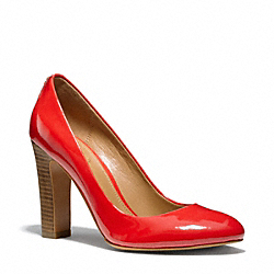 COACH Q3124 Shelley Heel CARNELIAN