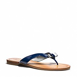 COACH Q3259 Sable Sandal RAW DENLIGHT GOLD