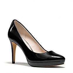 COACH Q3298 Giovanna Heel BLACK