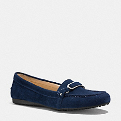 COACH Q3306 Flynn Loafer  MIDNIGHT