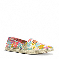 COACH Q4054 Margret Slip On MULTICOLOR