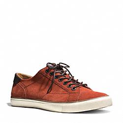COACH Q4097 Perkins Sneaker RUST