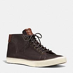 COACH Q4098 Pete Sneaker MAHOGANY