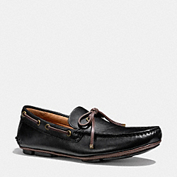 COACH Q4116 Maison Moccasin  BLACK