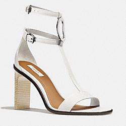 COACH Q4324 Marlow Heel WHITE
