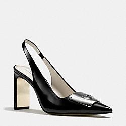 COACH Q4350 Sloan Heel BLACK