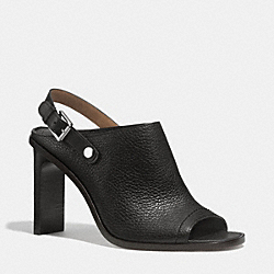 COACH Q4365 Mackenzie Heel BLACK/BLACK