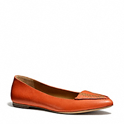 COACH OAKLAND FLAT - ORANGE - Q4544