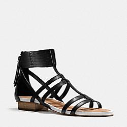 COACH Q4578 Nillie Sandal BLACK/BLACK