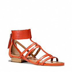 COACH Q4578 Nillie Sandal ORANGE/PAPAYA