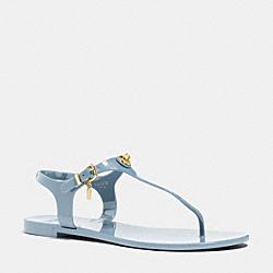 COACH Q4581 Pelican Sandal CORNFLOWER