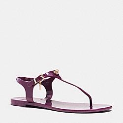 COACH Q4581 Pelican Sandal PLUM