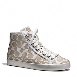 COACH KELSIE SNEAKER - ONE COLOR - Q4597