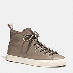 COACH Q4711 Brenna Sneaker SLATE