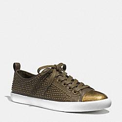 COACH Q4714 Makayla Sneaker OLIVE FATIGUE