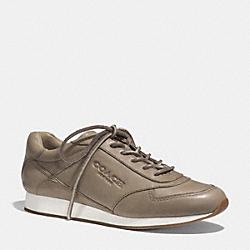 COACH Q4717 Raeann Sneaker SLATE