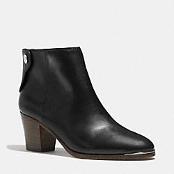 COACH Q5199 Waldorf Bootie BLACK