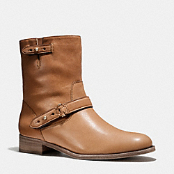 COACH Q5202 Amy Boot CINNAMON/CINNAMON