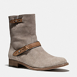 COACH Q5202 Amy Boot SLATE/SLATE
