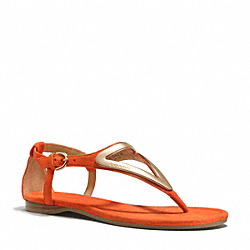 COACH Q6080 Chailey Sandal PAPAYA