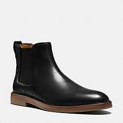 COACH Q6120 Gabe Boot BLACK