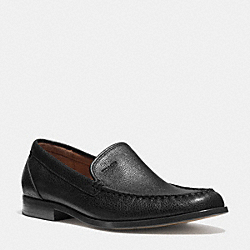 COACH Q6126 Thomas Loafer BLACK
