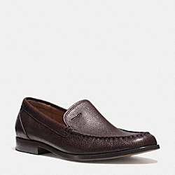 COACH Q6126 Thomas Loafer MAHOGANY
