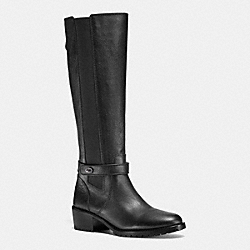 COACH Q6144 Pencey Boot BLACK