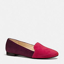COACH Q6149 Cambridge Flat RED/WINE