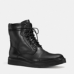 COACH Q6194 Henry Boot  BLACK