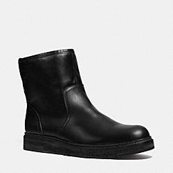 COACH Q6195 Harvey Boot  BLACK/BLACK