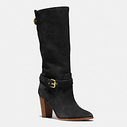 COACH Q6252 Beverly Bootie BLACK