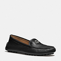 COACH Q6279 Nancy Loafer BLACK