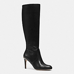 COACH Q6296 Roma Boot BLACK