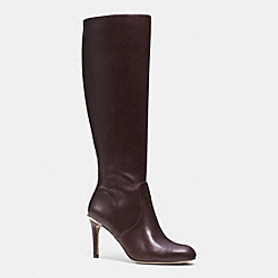 COACH Q6296 Roma Boot CHESTNUT
