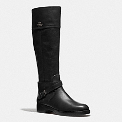 COACH Q6301 Elm Boot BLACK